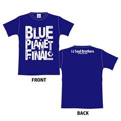 即決 三代目J Soul Brothers グラフィック Tシャツ ネイビーM