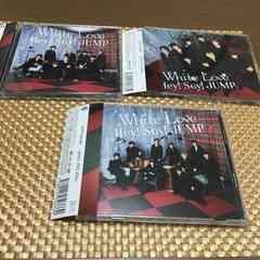 White Love初回限定CD+ DVD帯付き 新品未再生hey!say!jump3枚