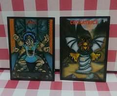 「カーリー」+「コカトリス」 カード 二枚セット