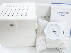 7084/ディーゼルDIESELDZ-1436フルホワイトカラーラバーモデルメンズ腕時計