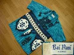 Bai Rani HAWAIIサイズSコットンアロハシャツ ヴィンテージ