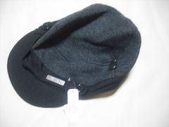 mn16 男 BILLABONG ビラボン ウールニット野球帽 グレー