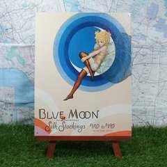 新品【ブリキ看板】Blue Moon/ブルームーン Silk Stockings