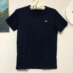 新品同様/ラコステ/定番Tシャツ/ネイビー/2