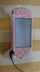PSP本体★中古★ブロッサムピンク★
