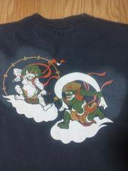 ★USED[フェローズ匠]風神雷神半袖Tシャツ スカジャン好きも