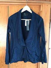 新品タグ付き MURUA ムルーア 薄手ジャケットアウターコート 紺