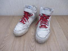 有名ブランド★リーボック/Reebok CLASSIC★革/白/26★送700円