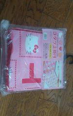 Sanrio キティちゃん 新品 コタツ上掛け190×190 ビニール