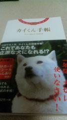 美品 お父さん犬 カイ君 北海道犬 カイくん手帳 ネネちゃん