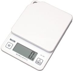 タニタ デジタルクッキングスケール 1kg ホワイト
