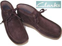 クラークスCLARKS新品PADMORE�Uミッドカット ブーツ63369us9