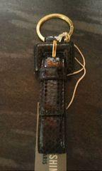 ジュンコシマダ蛇革製キーホルダー