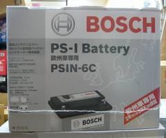 BOSCHボッシュバッテリー☆PSIN-6C☆欧州車専用