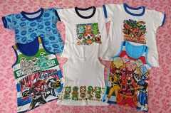 子供用インナーシャツ/仮面ライダー/戦隊ヒーロー/妖怪ウォッチ