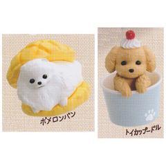 いぬぱん 2種セット アニコラ シリーズ バンダイ ガチャポン 犬 イヌ