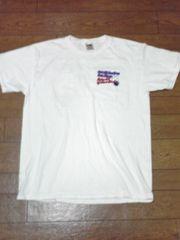 ボウリング柄 Tシャツ L