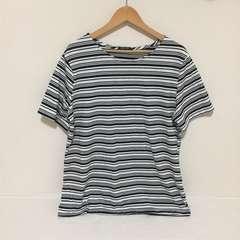 #大きいサイズ ボーダーTシャツ 4L