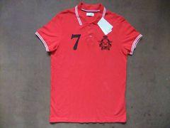 ZARA(ザラ)メンズ 半袖ポロシャツ  赤 レッド L