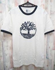 Timberland ティンバーランド 半袖Tシャツ L 白紺/TB0A1CYK