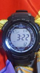 カシオプロトレック日本製PRW-2000タフソーラー電波腕時計二層液晶