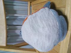 即決★80%off★ランピングユニバース★ロゴ帽子キャップ★46cm
