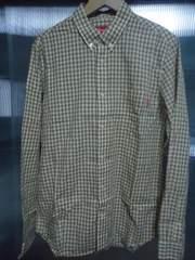 ★ SUPREME チェックシャツ M ☆ 美中古品