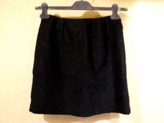 美◆NOLLEY'S Sophi ノーリーズ タックデザイン ウール スカート