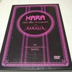 KARA KARASIA concert in SEOUL/DVD/正規品/3枚組