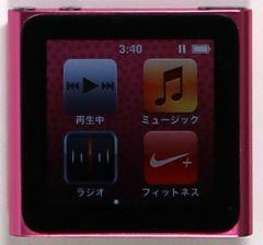 iPod nano, MC698J, 16GB, ピンク, 中古