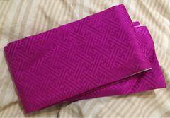 着物用◆高級半衿◆濃ピンク