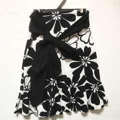 イタリア製 花柄スカート