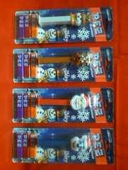 ☆PEZ☆2008☆クリスマス☆4種セット☆サンタ トナカイ スノーマン ホワイトベア☆ペッツ☆