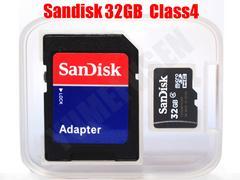 送料無料 サンディスク SanDisk microSDHC 32GB マイクロSDHC SDアダプタ付