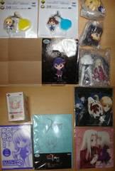 新品Fate/Zero 一番くじアニくじ/付録/非売品等 11点 フィギュア