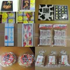東北のお土産のお菓子が6種類15個のセットで11500円相当の出品