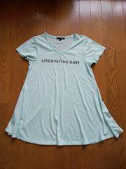 ペパーミントブルーTシャツ