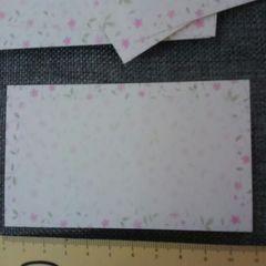 新品♪未使用♪小花模様のギフトカード*10枚セット♪プライスカード美品