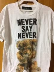 MILK BOY ミルクボーイ NEVER SAY ベアTシャツ 白 Sサイズ