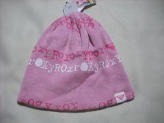 wb277 ROXY ロキシー ニット帽 ピンク