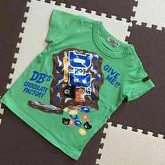 ミキハウスダブルB☆Tシャツ☆チョコレートファクトリー☆80cm