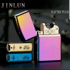 ■新型 USB充電 プラズマライター 高級 zippo型■