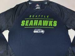 【Majestic】製 NFL【SEATTLE SEAHAWKS】ロングT US XL