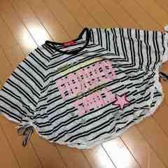 新品◆フィオルッチ◆半袖ポンチョトップスTシャツ◆140