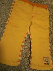 ミキハウス 80 ホットビスケッツ オレンジ 長ズボン パンツ