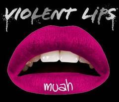 4g7)ViolentLipsバイオレントリップスmuahタトゥーシール唇B系パーティーコスプレセレブ