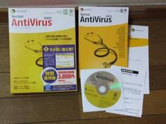 ノートン AntiVirus 2003 中古!