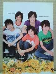 Jr.カレンダー'09.4-'10.3付録フォトブック切抜(19)関西ジャニーズJr.・WEST