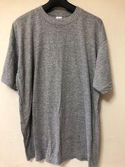 LLサイズ グレーTシャツ  らくらく定額便180
