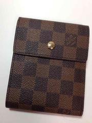 LouisVuittonダミエ二つ折り短財布(札入れのみ)&パスケース